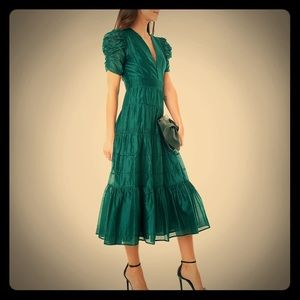 Ulla Johnson Odile Dress Teal